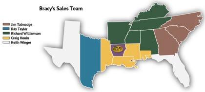 Bracy's Sales Team